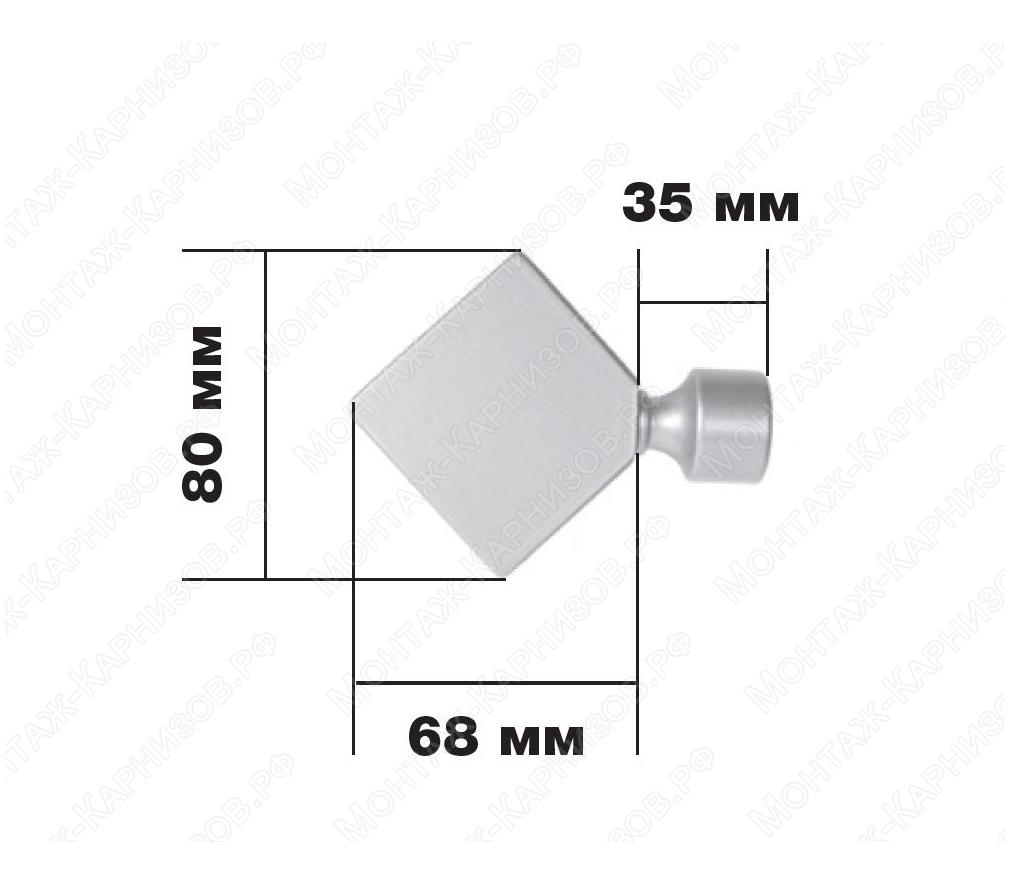 Размер наконечника Ромб