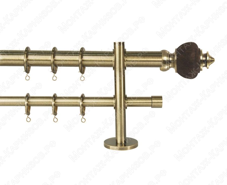 Карниз Marlen двухрядный металлический