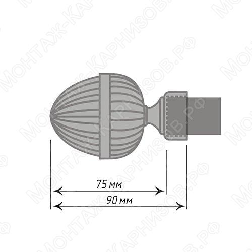 размер наконечника Одеон