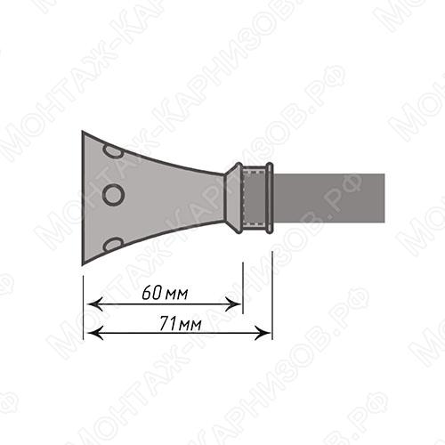 размер наконечника Картер