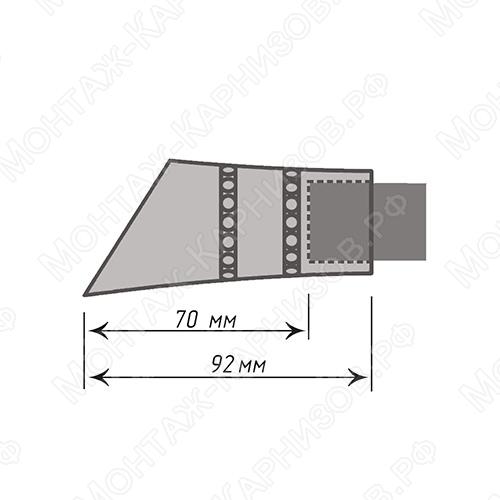 размер наконечника Дива