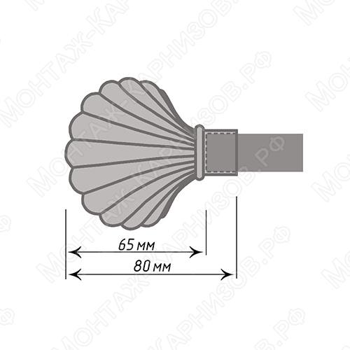размер наконечника Ракушка