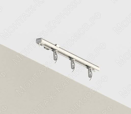 Профильный карниз для штор CT-1100 крепление к потолку